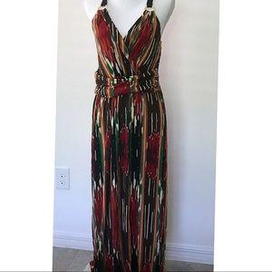 Vince Camuto Artisan summer Maxi Dress M